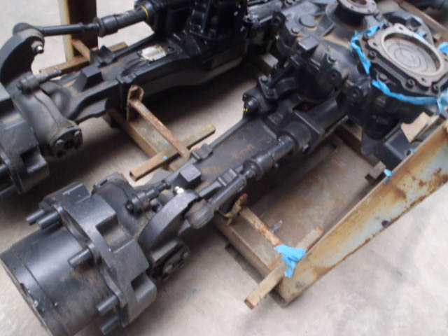 front axles rear construction machinery